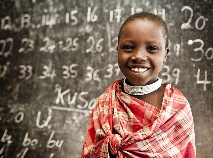 Números de aprendizaje de los niños en l