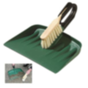 rubble shovel indestructable large plastic rubble pan