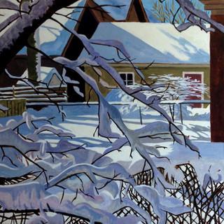 Snowy Backyard 2