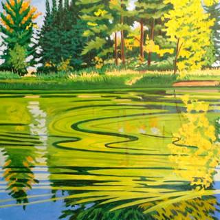 Pollen on the Pond