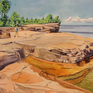 Bayfield Rock Shelf