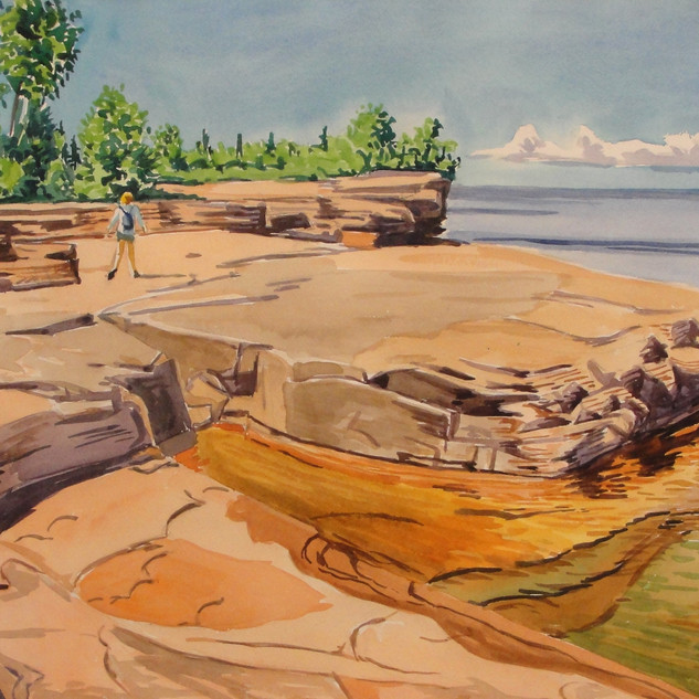Bayfield Rock Shelf