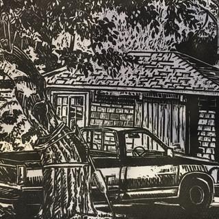 Truck in Maine
