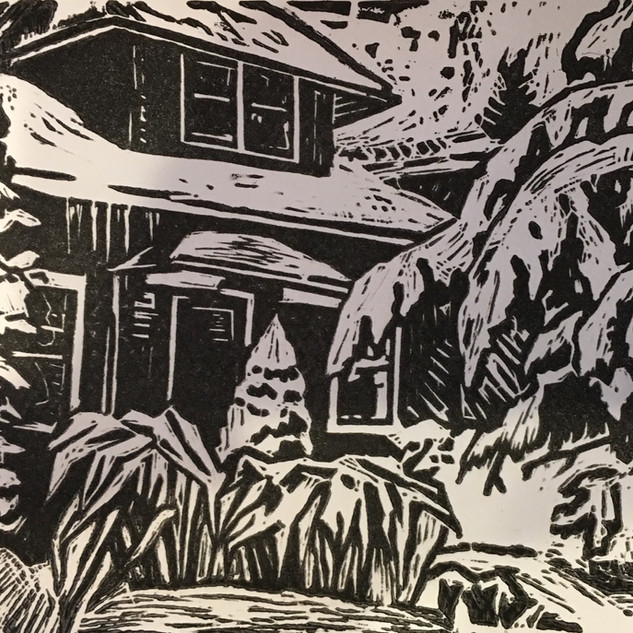 Heavy Snow on the Pine