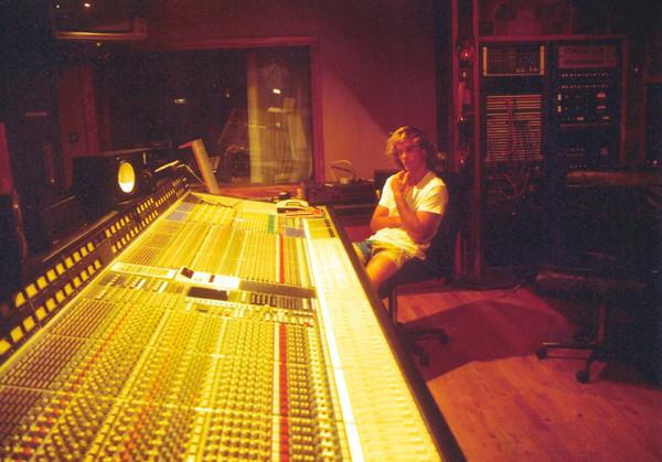 Gary Robilotta, Air Studios 1988. Photo by Carrll Robilotta