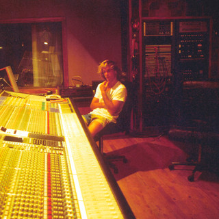 Gary at Air Studios, Montserrat-1988