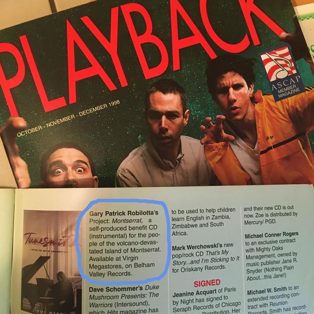 Playback ASCAP