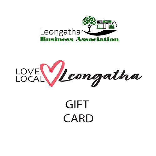 LBA Closed Loop Gift Card