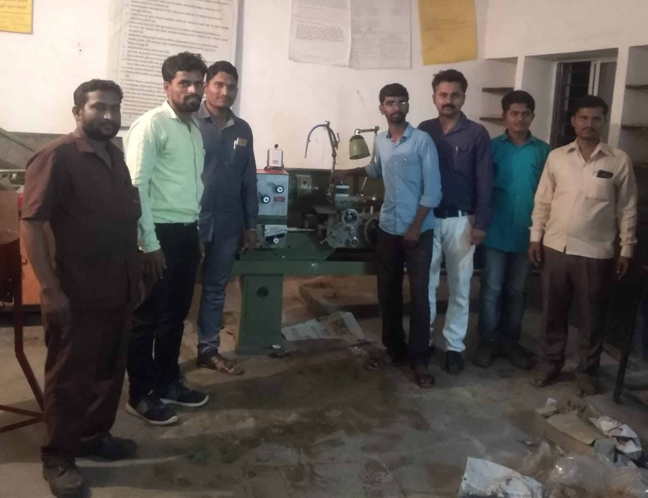 Laith Machine to train fitters and turne