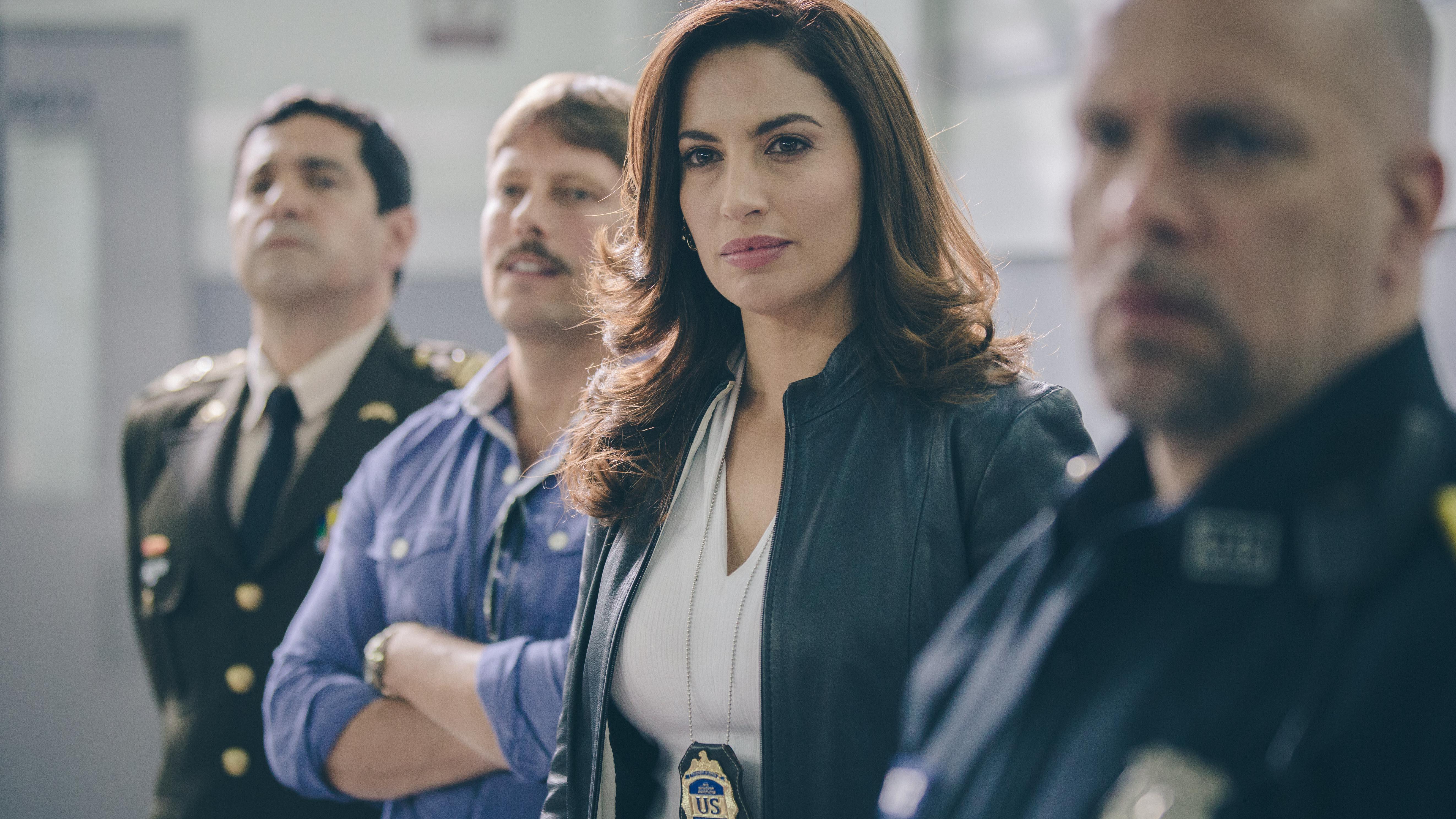 Agentes DEA y Coronel Ramirez