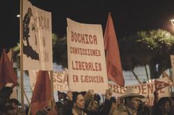 Manifestación Dussan 1989