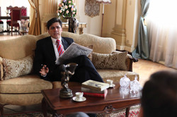 Despacho presidencial-Gaviri