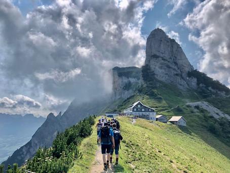Turnfahrt ins Alpsteingebiet