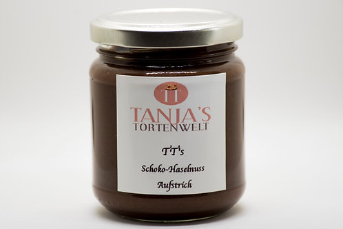 TT's Schokoladen - Haselnuss Aufstrich
