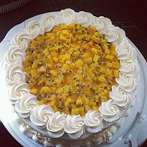 Passionsfrucht Torte