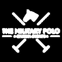 The Military Polo | White | New Logo .pn