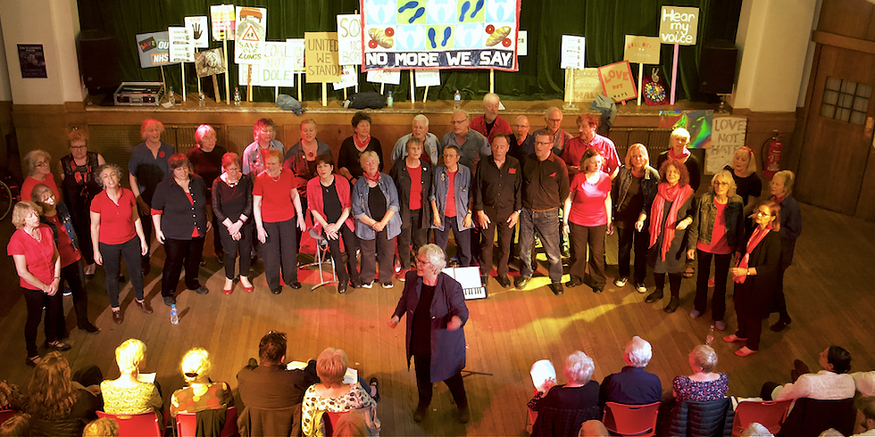 'SONGS OF HOPE' by Vocal Chords Acapella Choir & Guests Benefit Concert for CULTURE DECLARES EMERGENCY ON CLIMATE CHANGE