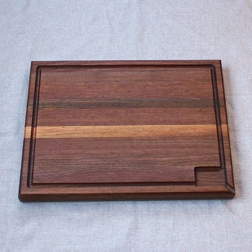 Professional Quality Walnut Edge Grain Cutting Board