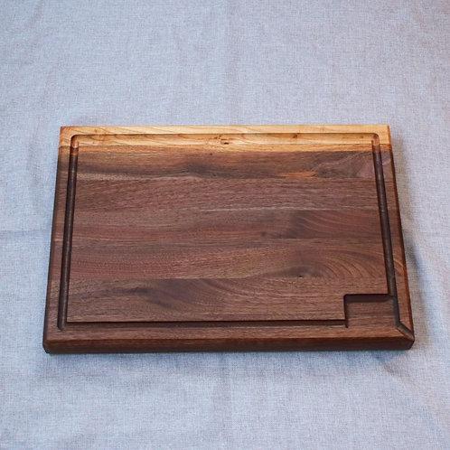 Professional Quality Walnut Edge Grain Cutting Board