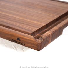 Walnut Cutting Board - New Juice Grooves