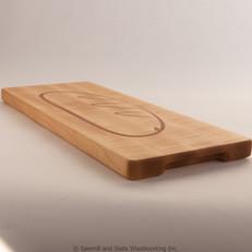 20 x 8 x 1 Maple Bread Board with Epoxy