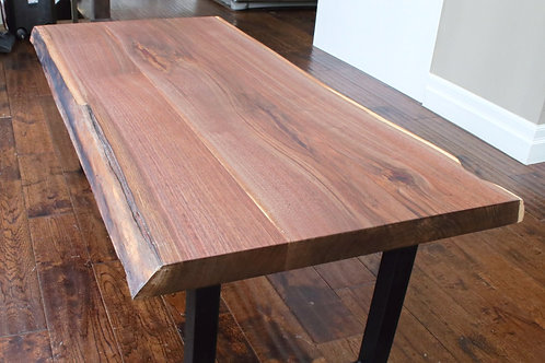 "Walnut Coffee Table - 48"" x 24""Table, 17Height"