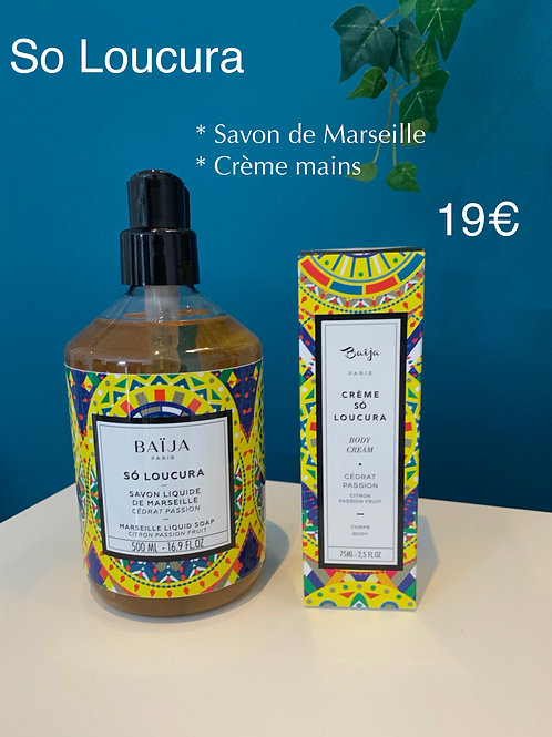 Savon de Marseille & Crème Mains