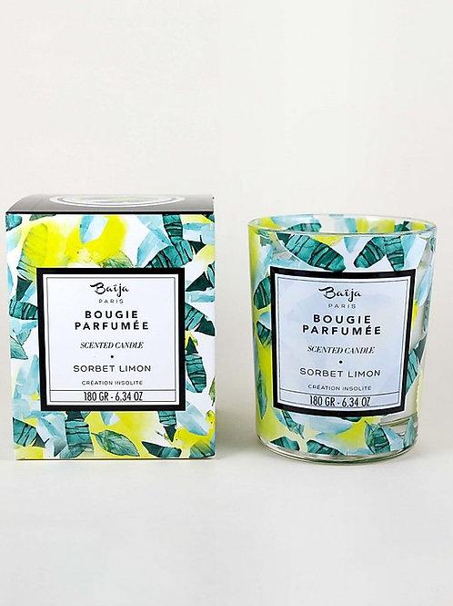 Bougie Parfumée Sorbet Limon