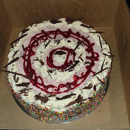 ICE CREAM CAKE ROUND (RASPBERRY)