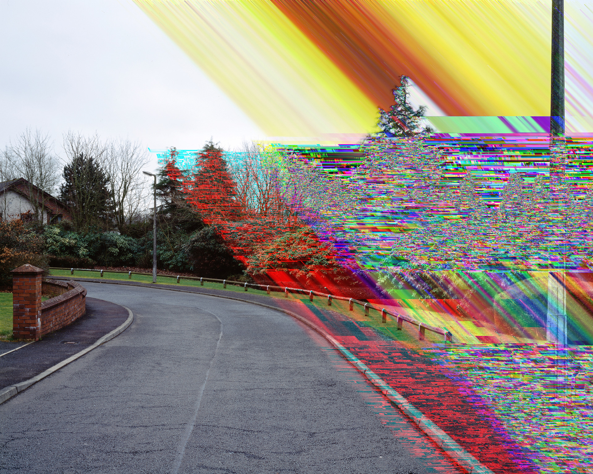 """al-Megrahi"", 12 Sherwood Crescent, Lockerbie, 100x125 cm, Digital Pigment-Print, 2011"