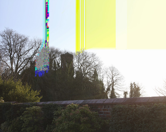"""1992 25 August"", Shrewsbury Castle, Castle Gates, Shrewsbury, 100x125 cm, Digital Pigment-Print, 2012"