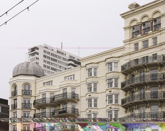 """Frangex"", The Grand Hotel Brighton, Brighton, 100x125 cm, Digital Pigment-Print, 2012"