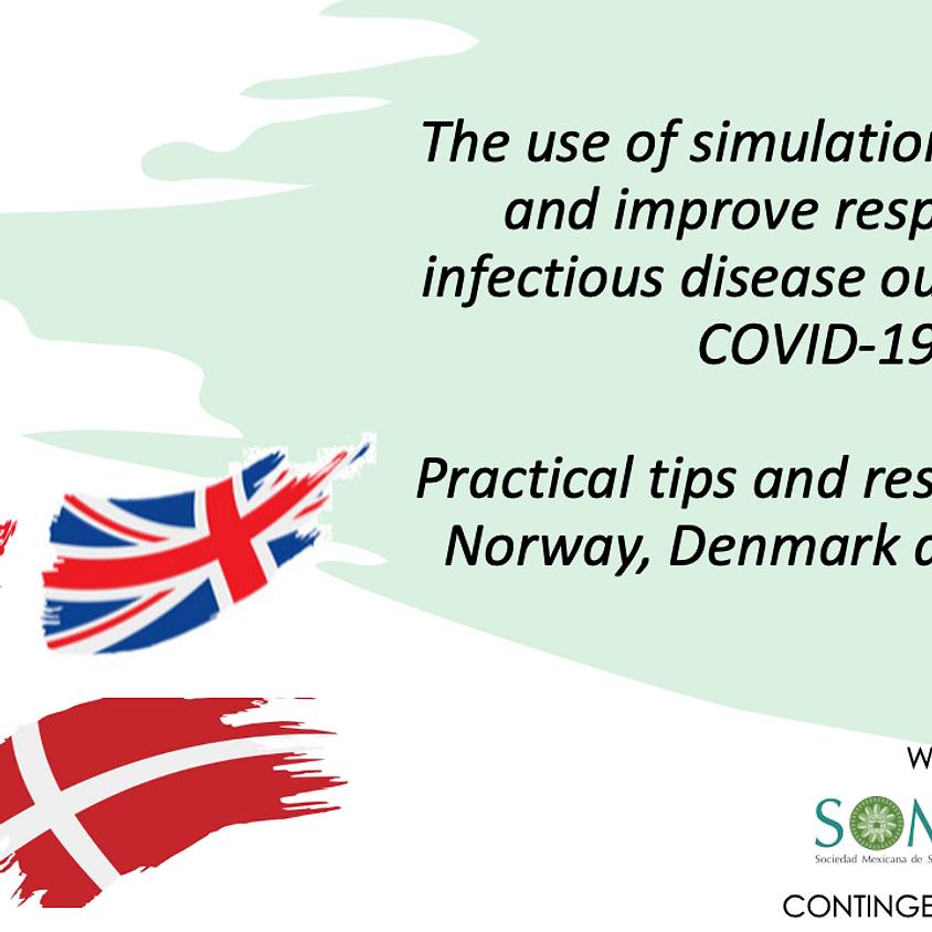 El uso de la simulación para prepararse y mejorar la respuesta a epidemias como la del COVID-19.