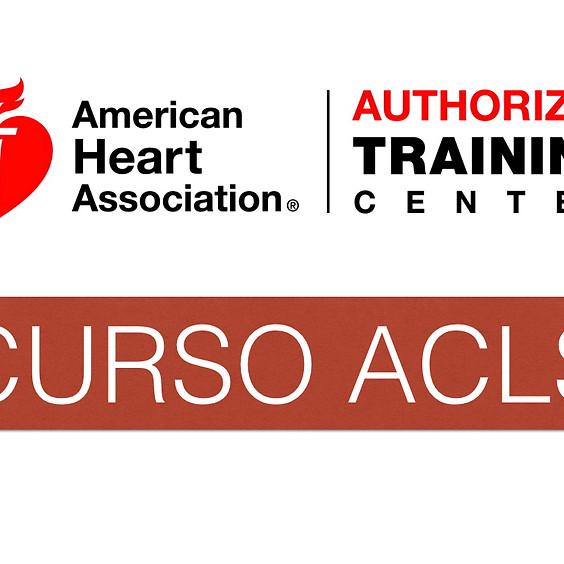 """CURSO AHA: SOPORTE VITAL AVANZADO """"ACLS Marzo 2020"""""""