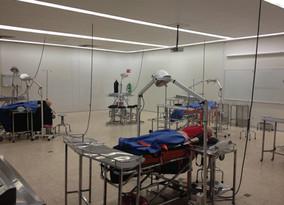Primer práctica quirúrgica empleando simuladores de alta fidelidad en la FCS U. Anáhuac México Norte