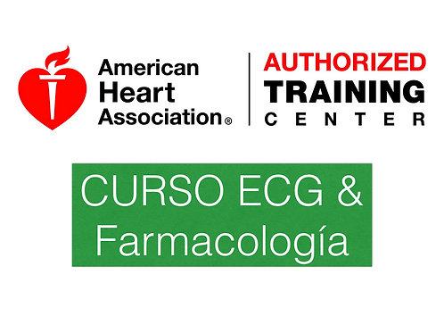 Curso ECG & Farmacología (Pre ACLS)-AHA2017