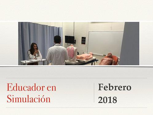 """""""Educador en Simulación Clínica"""" AGOSTO  2018"""