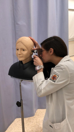 Simulador de Otoscopía