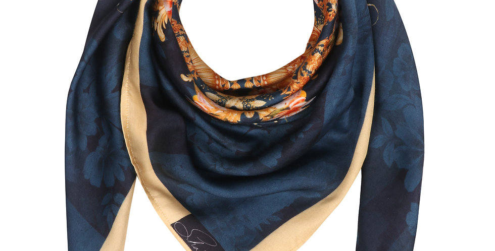 The Orient Express Silk Scarf
