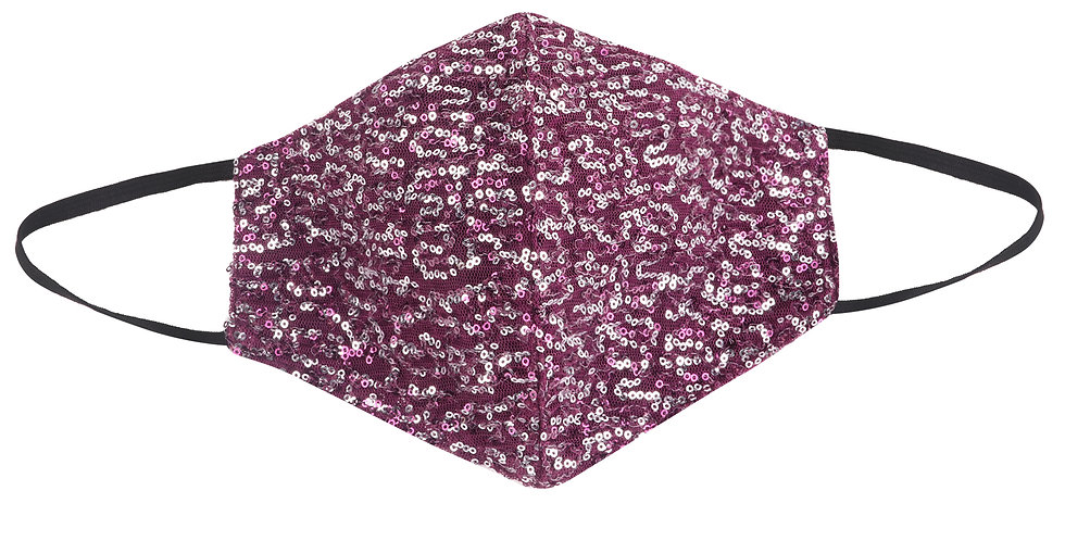 Purple Plum Mask - Adult