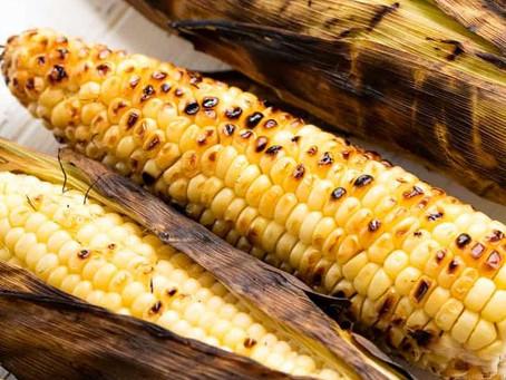 Golden Gotta Grab Grilled Corn on the Cob
