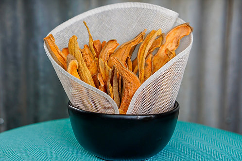 Plant-Based Dog Treats - Sweet Potato Fries