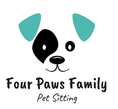 Four Paws Family Logo