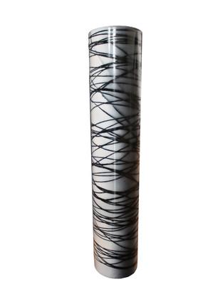 Vase ILLUSION Technique - acrylic on glass