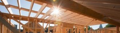 Sunlight through new construction