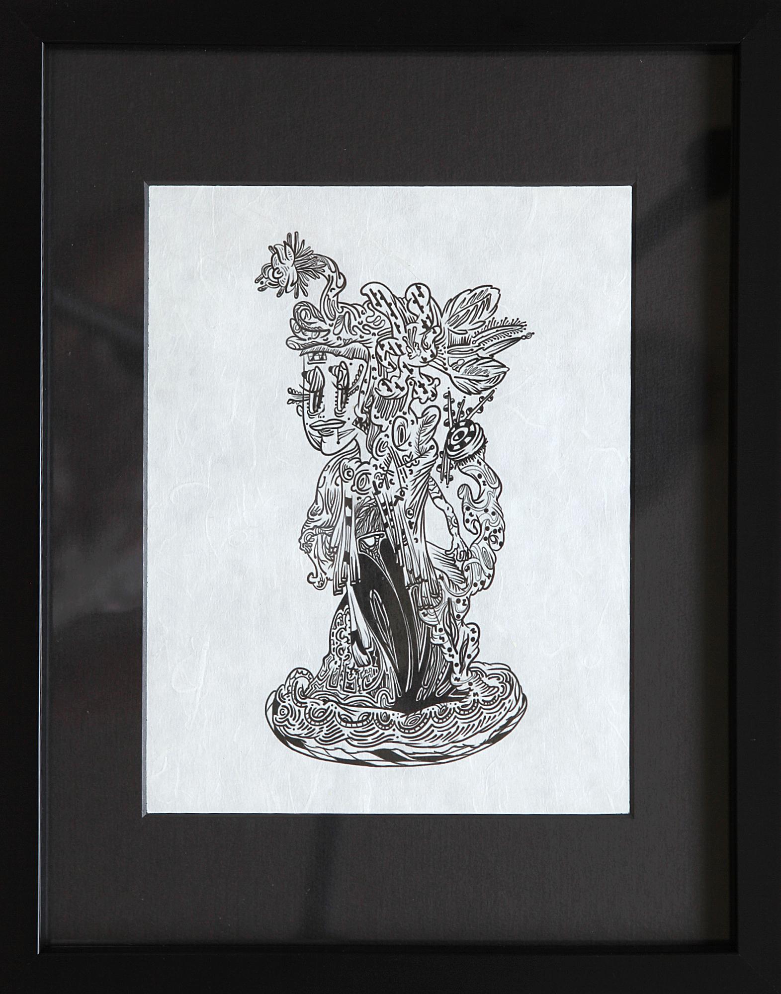 꽃위의 여신