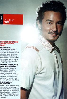 Christopher Lee, Actor
