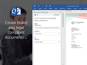 Word add-in l Document Wizard