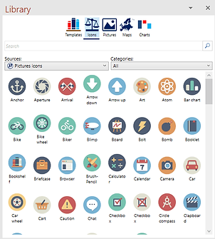 Power-user for PowerPoint, Excel and Word l Icons