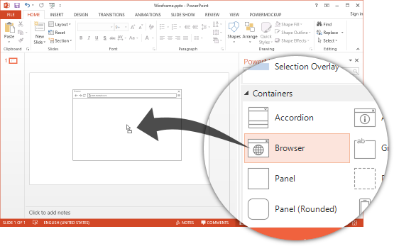 PowerPoint add-in l Power Mockup